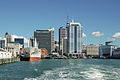 North view of Auckland CBD as seen from ferry 20100408 1.jpg