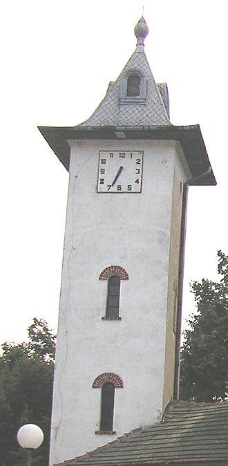 Novo Selo, Vidin Province - The clock tower, a symbol of Novo Selo