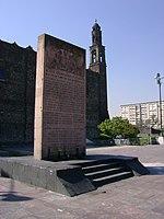 Plaza de las Tres Culturas, en la Ciudad de México