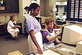 Nurses in a nurses' station, USA 1987.jpg