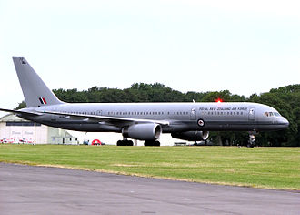 RNZAF Base Auckland - A No. 40 Squadron Boeing 757–200 in 2006