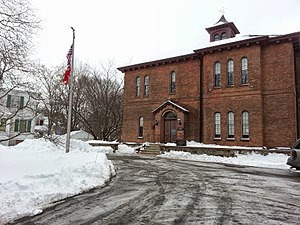 Old Colony Historical Society - Image: OCHM in the snow