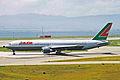 OE-LAT B767-31AER Lauda Air Italy KIX 14JUL01 (7063887003).jpg