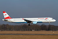 OE-LBD - A321 - Austrian Airlines