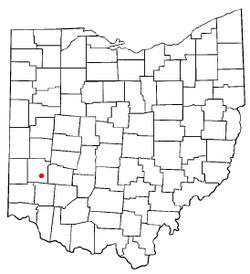 Location of Moraine, Ohio