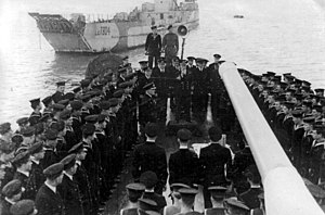 HMS Danae (D44) - Image: ORP Conrad
