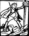 O 'victorie'. Fostul poet Goga -- Drumul spre izbândă nu cunoaşte piedici. Aurora, 31 mai 1926.jpg