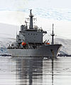 Ocean Survey Vessel HMS Scott Visits Port Lockroy MOD 45151073.jpg