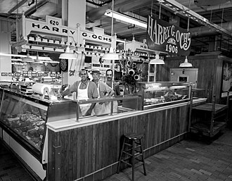 Reading Terminal Market - Original Harry Ochs meat stand