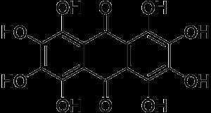 Octahydroxyanthraquinone - Image: Octahydroxyanthraqui none