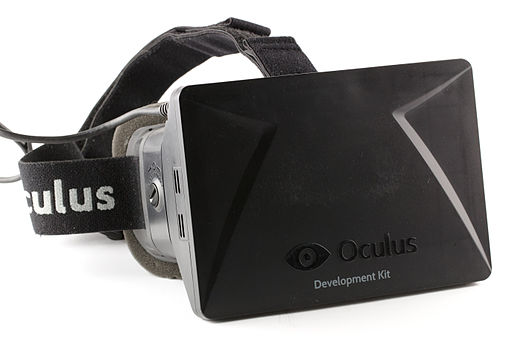 Oculus Rift - Developer Version - Front