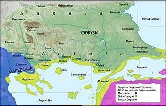 Approximate location of the Thyni OdrysianKingdom.jpg