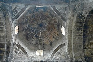 Squinch - Squinches supporting a dome in Odzun Basilica, Armenia, early 8th century