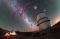 Of trails and telescopes (41649280791).jpg