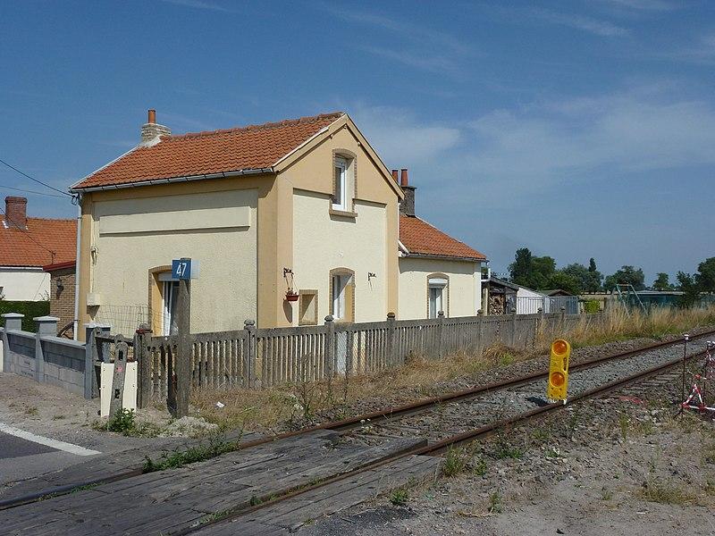 Offekerque (Pas-de-Calais) ancienne gare