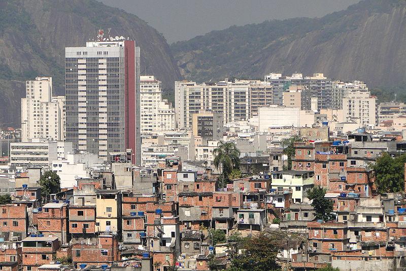 File:Office Towers and Favela - Rio de Janeiro - Brazil.jpg
