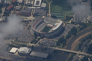 Ohio Stadium - Aerial photograph of Ohio Stadium