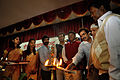 Oil Lamp Lighting - Inaugural Function - Ranchi Science Centre - Jharkhand 2010-11-29 9035.JPG