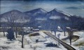 "Oil painting ""Winter Vista"" at Region 5 Customs House, Chicago, Illinois LCCN2010719965.tif"