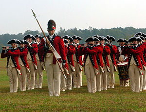3rd U.S. Infantry Regiment (The Old Guard) - The Old Guard Fife and Drum Corps on parade in October 2006.