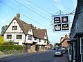 Old Pub Sign, Brenchley - geograph.org.uk - 798351.jpg