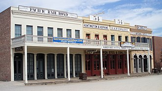 Old Sacramento State Historic Park - The Big Four Building, Old Sacramento