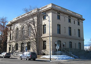 United States Post Office and Courthouse (Lander, Wyoming) - US Post Office and Courthouse