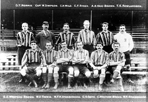 Old Carthusians F.C. - The team that won the Arthur Dunn Cup in 1903