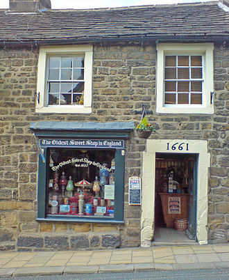 Confectionery store - The oldest sweet shop in England, in the village of Pateley Bridge