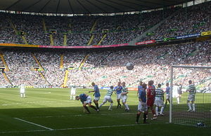 Old Firm - An Old Firm clash in 2008