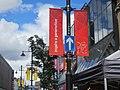 Olympic branding on Northumberland Street (geograph 3068979).jpg