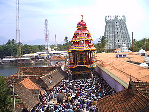 Thanumalayan Temple - The Temple Chariot festival