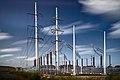 Opstijgpunt Tanthofpark Randstad 380 kV Zuidring Delft NL 2014.jpg