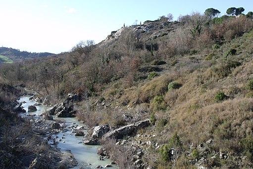 The Orcia River and Bagno Vignoni, San Quirico d'Orcia