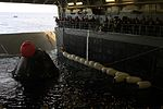 Orion in the Well Deck of USS Anchorage after EFT-1 01.jpg