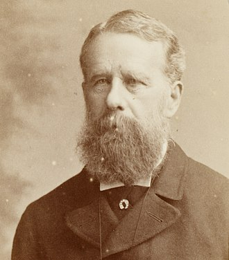 Oswald Walters Brierly - Portrait of Oswald Walters Brierly, c.1880