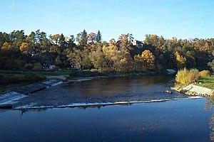 Otava (river) - Otava River near Vrcovice