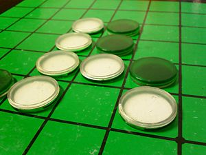 Reversi - Image: Othello (Reversi) board