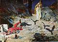 Oton Ivekovic, Smrt kralja Petra Svacica u Gori Gvozdu 1097 god.jpg