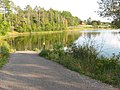 Otter Lake - Elcho, Wisconsin dock.jpg