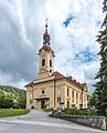Pörtschach Pfarrkirche hl. Johannes d. T. SW-Ansicht 19082015 6785.jpg