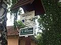 Přílepy (KM), turistické značení.jpg