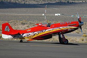 Air racing - P-51D Mustang Dago Red