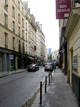 Image illustrative de l'article Rue des Saints-Pères