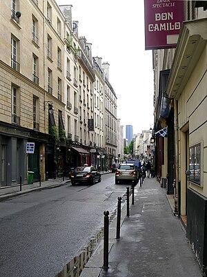 Don Camilo - The rue des Saints-Pères with the Don Camilo.