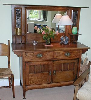 Harris Lebus sideboard. Arts and Crafts Moveme...
