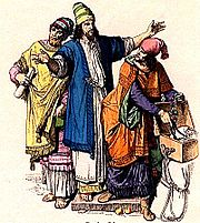 Jewish noblemen in ancient Judah.