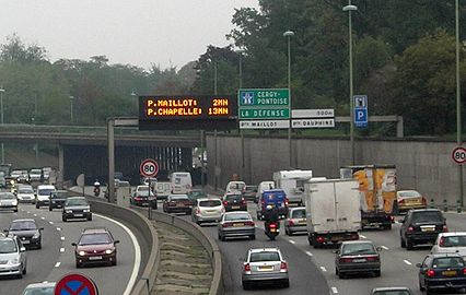 vitesse autoroute