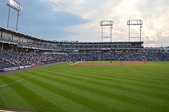 PNC Field - Image: PNC Field right field