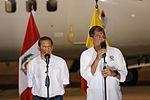 PRESIDENTE DE ECUADOR RAFAEL CORREA AGRADECE ENORME GESTO DE SOLIDARIDAD DE GOBIERNO Y PUEBLO PERUANO (26415387430).jpg